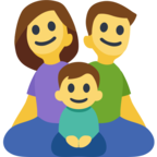 👨‍👩‍👦 Facebook / Messenger «Family: Man, Woman, Boy» Emoji - Facebook Website version