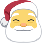 🎅 Facebook / Messenger Santa Claus Emoji - Site Facebook