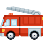 🚒 Смайлик Facebook / Messenger «Fire Engine»