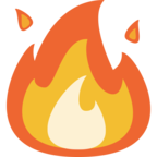 🔥 «Fire» Emoji para Facebook / Messenger