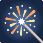 🎇 Facebook / Messenger «Sparkler» Emoji - Facebook Website version