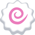 🍥 Facebook / Messenger «Fish Cake With Swirl» Emoji
