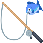 🎣 «Fishing Pole» Emoji para Facebook / Messenger