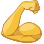 💪 Facebook / Messenger Flexed Biceps Emoji - Facebook Website