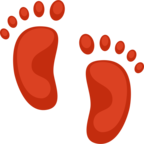 👣 Facebook / Messenger Footprints Emoji - Facebook Website