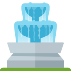 ⛲ Facebook / Messenger «Fountain» Emoji - Facebook Website version