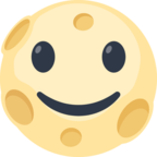 🌝 Facebook / Messenger «Full Moon With Face» Emoji