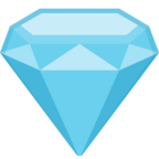💎 Смайлик Facebook / Messenger «Gem Stone»