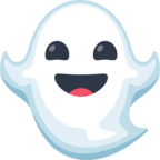 👻 Смайлик Facebook / Messenger Ghost - На сайте Facebook