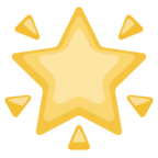 🌟 Facebook / Messenger «Glowing Star» Emoji