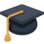🎓 Facebook / Messenger «Graduation Cap» Emoji - Facebook Website version