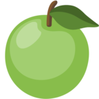 🍏 Facebook / Messenger «Green Apple» Emoji