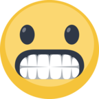😬 Facebook / Messenger «Grimacing Face» Emoji