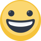 😀 Facebook / Messenger «Grinning Face» Emoji