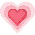 💗 Facebook / Messenger «Growing Heart» Emoji