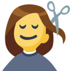 💇 Facebook / Messenger «Person Getting Haircut» Emoji