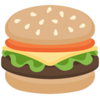 🍔 Facebook / Messenger Hamburger Emoji - Site Facebook