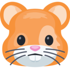 🐹 Смайлик Facebook / Messenger «Hamster Face»