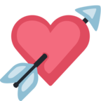 💘 Facebook / Messenger Heart With Arrow Emoji - Facebook Website