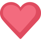 ❤ Facebook / Messenger «Red Heart» Emoji