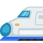 🚅 Facebook / Messenger «High-Speed Train With Bullet Nose» Emoji