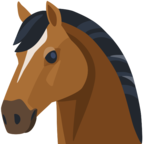 🐴 Facebook / Messenger «Horse Face» Emoji