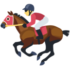 🏇 Смайлик Facebook / Messenger Horse Racing - На сайте Facebook
