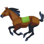 🐎 Смайлик Facebook / Messenger «Horse»