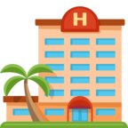 🏨 Смайлик Facebook / Messenger «Hotel»