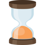 ⌛ Смайлик Facebook / Messenger «Hourglass»