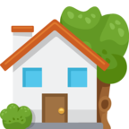 🏡 Facebook / Messenger «House With Garden» Emoji
