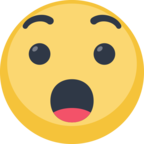 😯 Facebook / Messenger «Hushed Face» Emoji