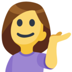 💁 Facebook / Messenger «Person Tipping Hand» Emoji