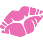 💋 Kiss Mark Emoji para Facebook / Messenger - Sitio web de Facebook