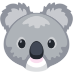 🐨 Смайлик Facebook / Messenger «Koala»