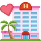 🏩 Смайлик Facebook / Messenger «Love Hotel»