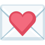 💌 Смайлик Facebook / Messenger «Love Letter»
