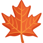🍁 Смайлик Facebook / Messenger «Maple Leaf»