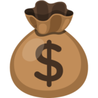 💰 Facebook / Messenger «Money Bag» Emoji
