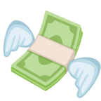💸 Facebook / Messenger Money With Wings Emoji - Facebook Website