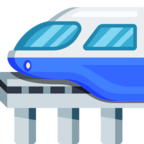 🚝 Facebook / Messenger «Monorail» Emoji