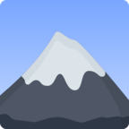 🗻 Facebook / Messenger «Mount Fuji» Emoji