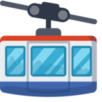 🚠 Facebook / Messenger «Mountain Cableway» Emoji - Facebook Website version