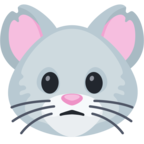 🐭 Facebook / Messenger «Mouse Face» Emoji
