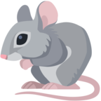 🐁 «Mouse» Emoji para Facebook / Messenger