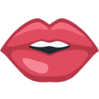 👄 Facebook / Messenger «Mouth» Emoji