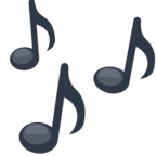 🎶 Facebook / Messenger Musical Notes Emoji - Facebook Website