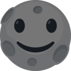 🌚 Facebook / Messenger «New Moon Face» Emoji