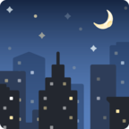 🌃 Facebook / Messenger «Night With Stars» Emoji