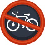 🚳 Facebook / Messenger «No Bicycles» Emoji - Facebook Website version